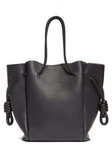 Loewe Flamenco small grained-leather tote bag