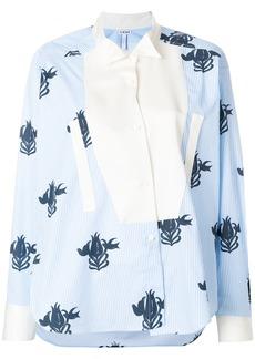 Loewe floral print blouse - Blue