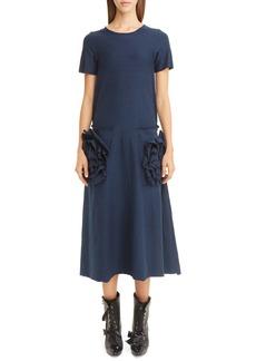 Loewe Flower Pocket T-Shirt Dress