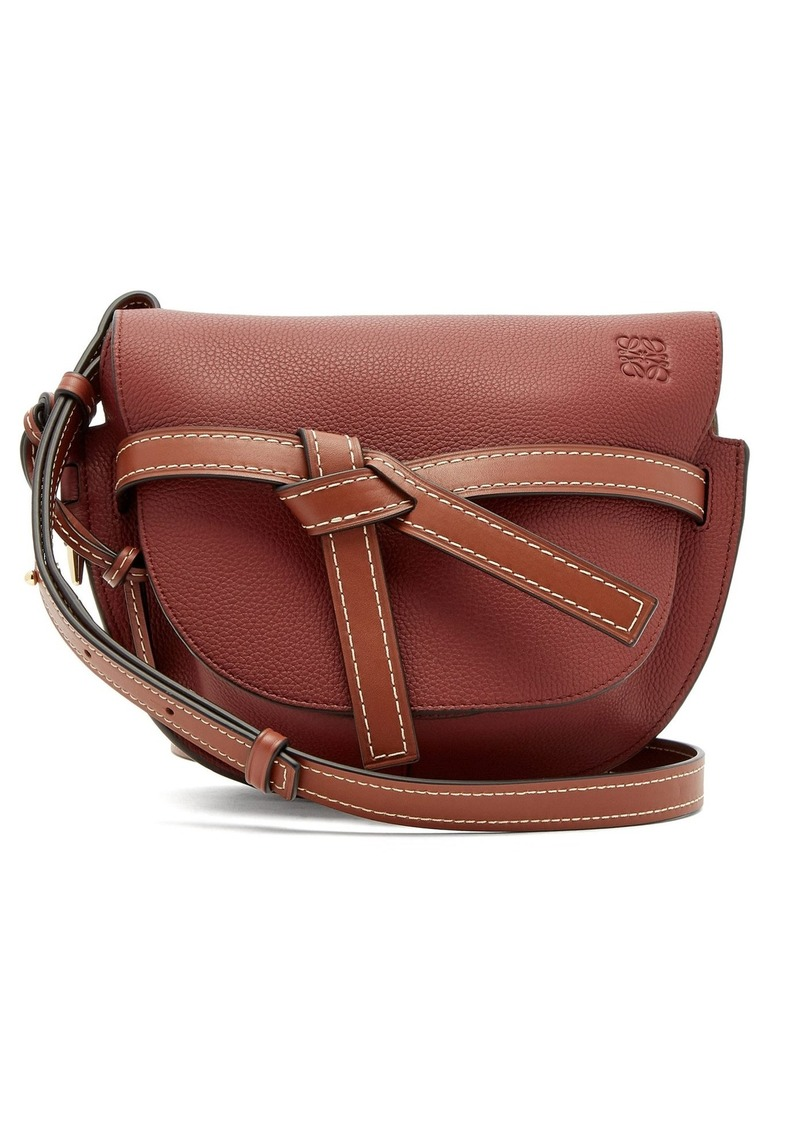 38be05e2ea3 Gate small grained leather cross-body bag