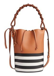 Loewe Gate Marine Calfskin Leather Bucket Bag