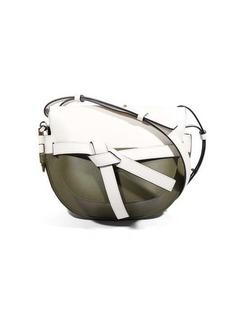 Loewe Gate mini colour-block leather cross-body bag