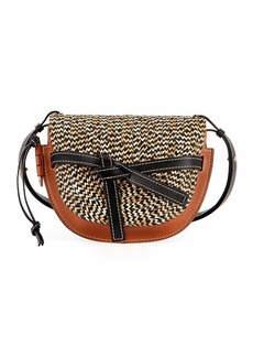 Loewe Gate Small Braided Shoulder Bag
