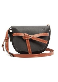 Loewe Gate small grained-leather cross-body bag