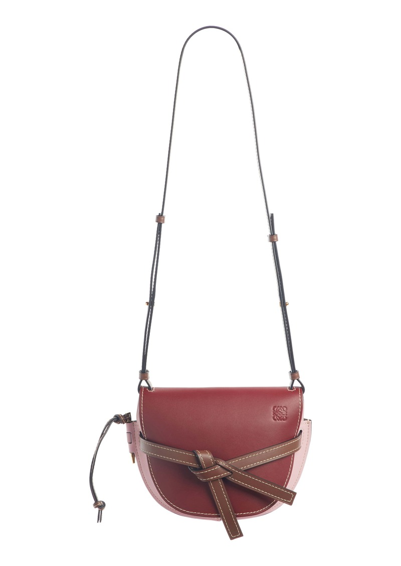Loewe Gate Small Leather Crossbody Bag