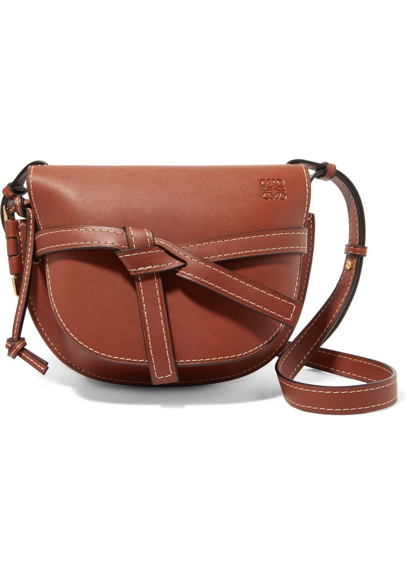 732357a842 Loewe Gate small leather shoulder bag