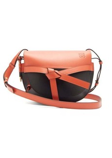 Loewe Gate small two-tone leather cross-body bag