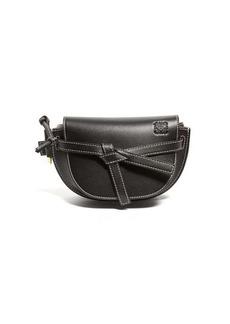 Loewe Gate small woven-leather belt bag