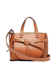 Loewe Gate woven-leather tote bag