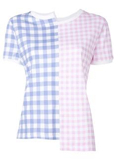 Loewe gingham T-shirt - Blue