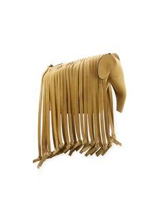 Loewe Gold Fringe Elephant Crossbody Bag