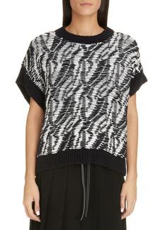 Loewe Graphic Reverse Float Jacquard Sweater