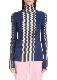 Loewe Graphic Rib Cotton Sweater