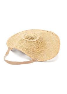 Loewe Halo woven raffia hat