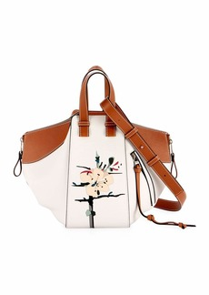 Loewe Hammock Small Botanical Satchel Bag