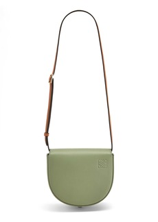 Loewe Heel Duo Colorblock Leather Bag