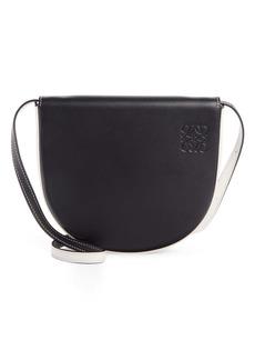 Loewe Heel Leather Crossbody Bag