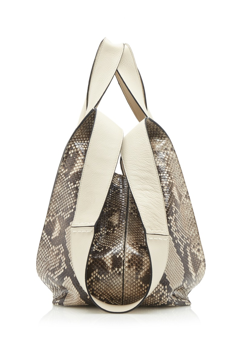 71f28714b Loewe Loewe Hobo Tote Bag with Snake | Handbags