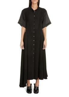 Loewe Jacquard Midi Shirtdress