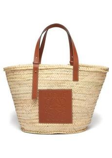 Loewe Large woven basket bag