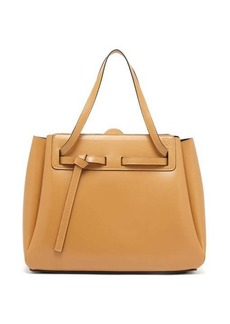 Loewe Lazo knotted leather tote bag