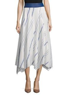 LOEWE Leather Waistband Skirt