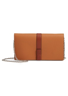 Loewe Leather Wallet on a Chain