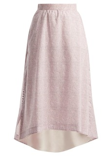 Loewe Liberty-print cotton-poplin skirt