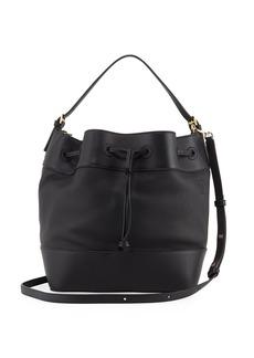 Loewe Midnight Calf Leather Bucket Bag