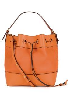 Loewe Midnight Leather Bucket Bag