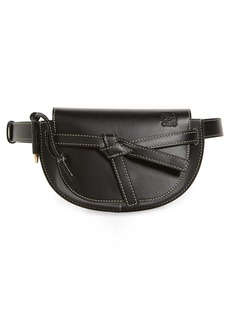 Loewe Mini Gate Calfskin Leather Belt Bag