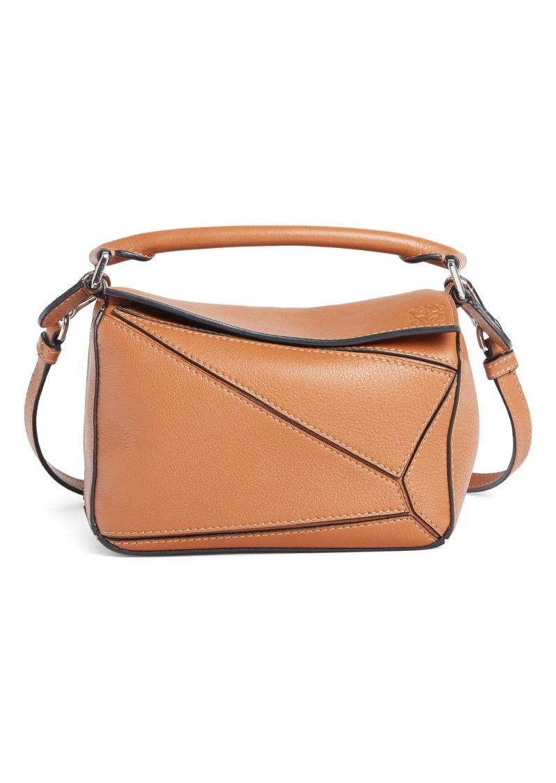 Loewe Puzzle Mini Calfskin Leather Bag