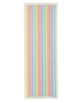 Loewe Monogram Rainbow Stripe Scarf