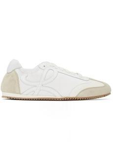 Loewe Off-White & White Ballet Runner Sneakers