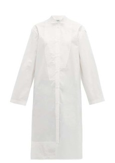 Loewe Oversized asymmetric cotton-poplin shirt