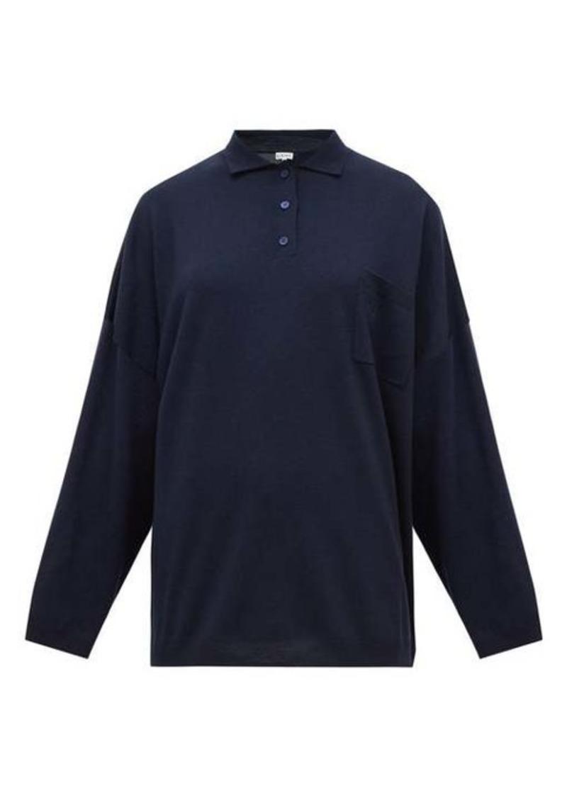 Loewe Oversized spread-collar wool sweater