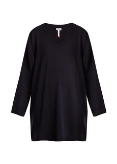 Loewe Oversized V-neck wool sweater