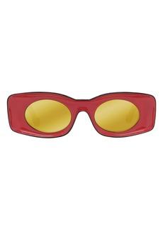 Loewe x Paula's Ibiza 49mm Rectangular Sunglasses