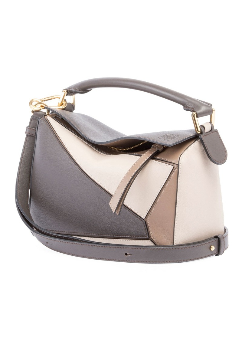 f944e559b Loewe Puzzle Medium Colorblock Leather Bag | Handbags