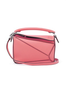 Loewe Puzzle mini grained-leather cross-body bag