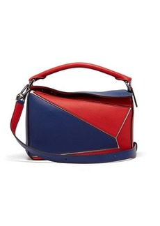 Loewe Puzzle small grained-leather cross-body bag