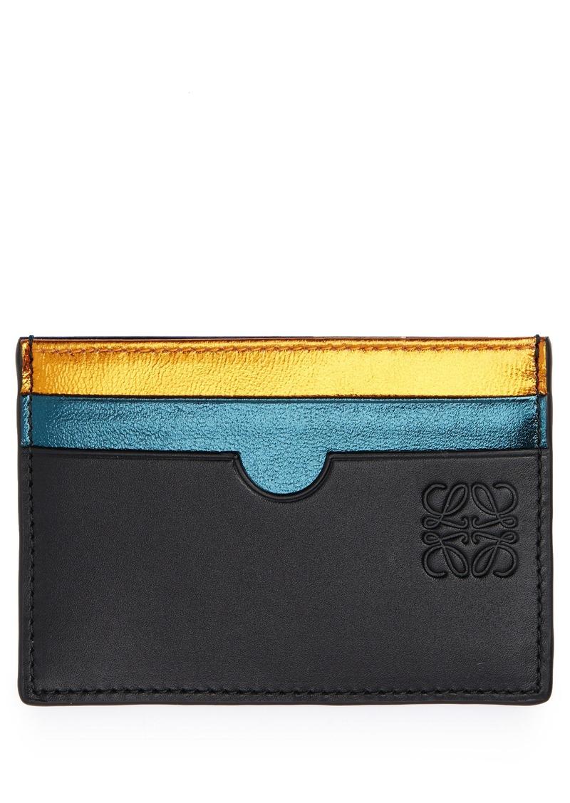 Loewe Rainbow Plain Card Case