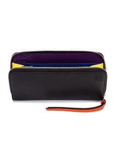 Loewe Rainbow Zip Around Wallet
