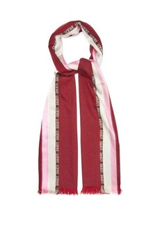 Loewe Silk and cashmere-blend scarf