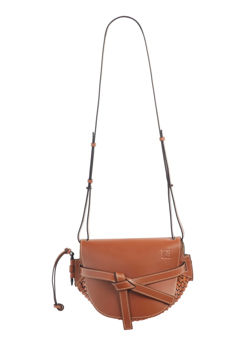 Loewe Small Gate Woven Leather Bag