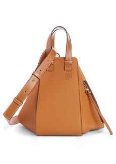 Loewe Small Hammock Leather Hobo Bag