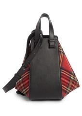 Loewe Small Hammock Tartan Shoulder Bag