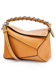 Loewe Small Puzzle Edge Leather Shoulder Bag