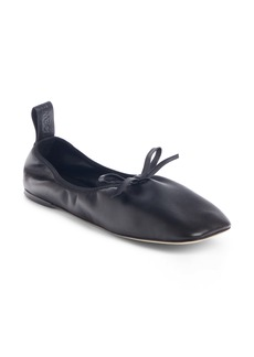 Loewe Square Toe Ballet Flat (Women)
