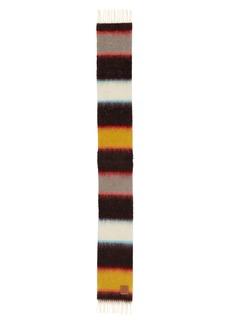 Loewe Stripes Mohair Blend Scarf
